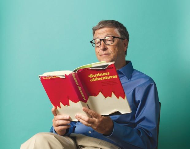 Bill Gates: livros lidos pelo bilionário vão parar em seu blog (Foto: John Keatly)