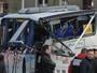 Acidente com ônibus escolar mata 6 na França (Xavier Leoty / AFP)
