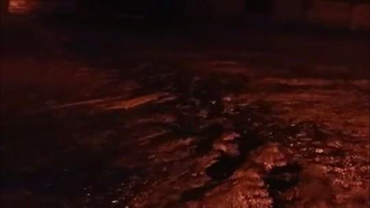 Chuva forte castiga ao menos oito regiões de Paranaguá, no litoral
