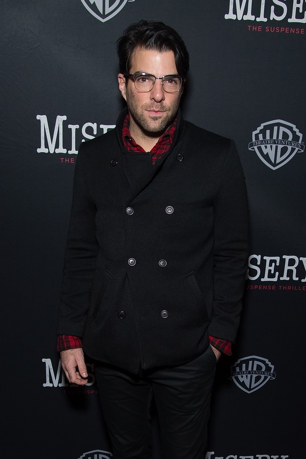 O ator Zachary Quinto (Foto: Getty Images)