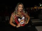 Geisy Arruda posa decotada em camarote: 'Com as piores intenções'