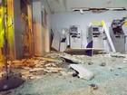 Quadrilha explode agência bancária em Governador Dix-Sept Rosado, RN