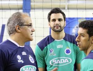 treinador Cruzeiro Volei (Foto: Divulgação / Site Oficial da Equipe de Vôlei do Cruzeiro)
