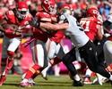Chiefs vencem com 9 pontos de Cairo; Eagles derrubam último invicto Vikings