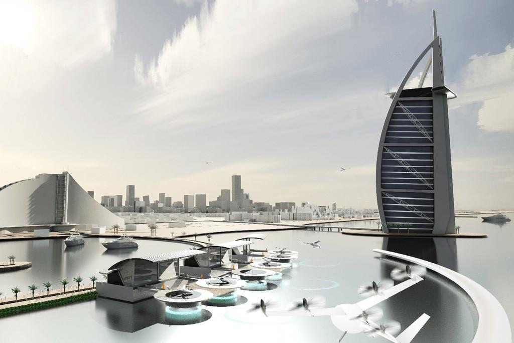 Planos da Uber para Dubai e Dallas (Foto: Divulgação)