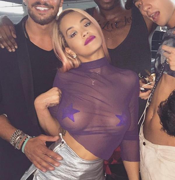 A cantora Rita Ora (Foto: Instagram)