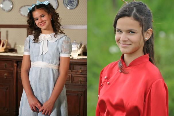 Em Desejo Proibido (2007), como Maria Augusta, e em Negócio da China (2008), como Flor de Lys Silvestre (Foto: CEDOC Globo)