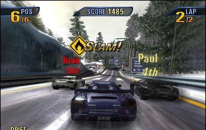 Velocidade e acidentes assustadores são os ingredientes principais de Burnout 3: Takedown (Foto: Reprodução)