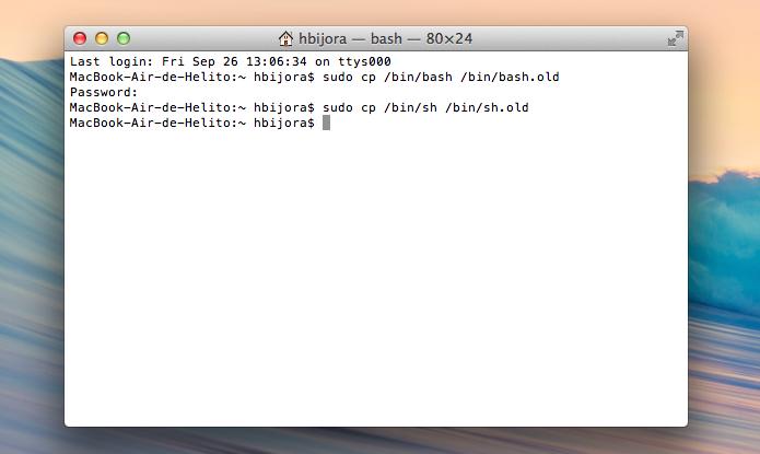 Executando backup da versão atual (Foto: Reprodução/Helito Bijora)
