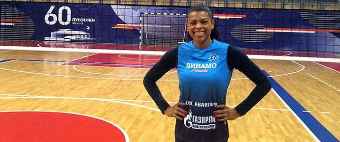 Fernanda Garay vai defender o Dinamo Moscou (Foto: Divulgação)