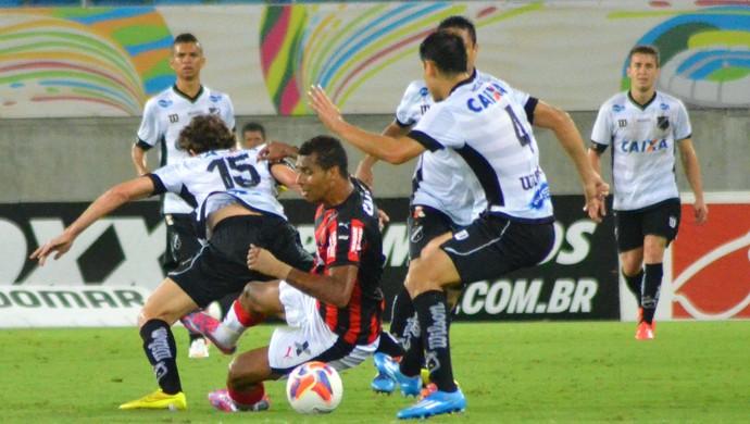 ABC x Vitória, na Arena das Dunas (Foto: Frankie Marcone/Divulgação/ABC)