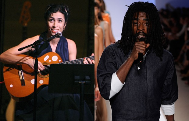 Marisa Monte e Seu Jorge (Foto: Getty Images)