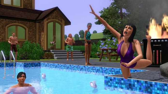 The Sims revela também o lado sádico de alguns jogadores (Foto: wallpapers-games.com)
