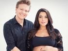 Thais Fersoza posta nova foto de ensaio grávida com Michel Teló