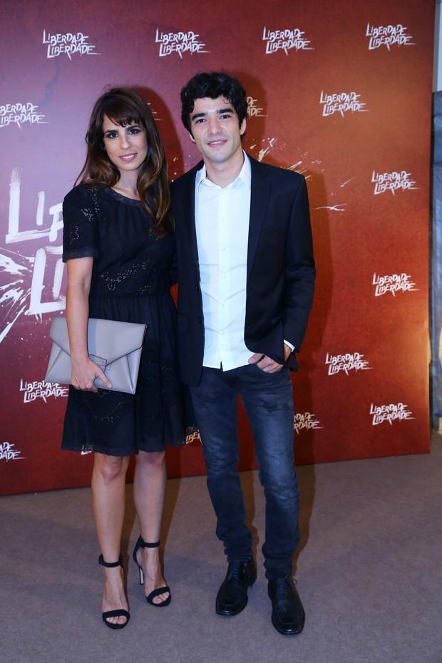 Maria Ribeiro e Caio Blat (Foto: AgNews - Felipe Assunção e Marcello Sá Barretto)