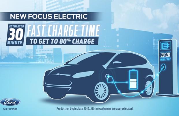 Ford Focus ganhará versão elétrica em 2016 (Foto: Divulgação)