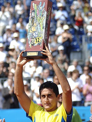 Nicolas Almagro, Tênis, A|TP de nice (Foto: Agência AP)
