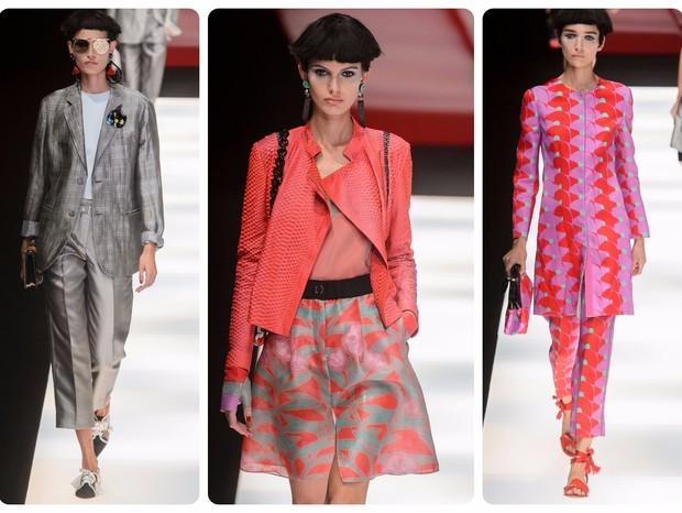 3b5e85d61a00f Giorgio Armani   Desfile da Semana de Moda de Milão   Primavera-verão 2018 (