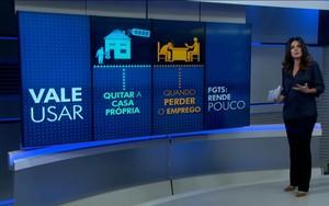Mara Luquet fala sobre a melhor maneira de pagar os impostos (Reprodução / TV Globo)