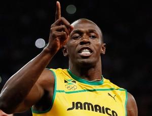 Usain Bolt, Atletismo, 100m Ouro, Medalha (Foto: Agência Reuters)