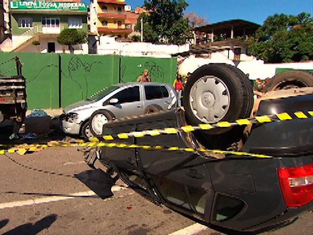 acidente (Foto: Reprodução/TV Bahia)