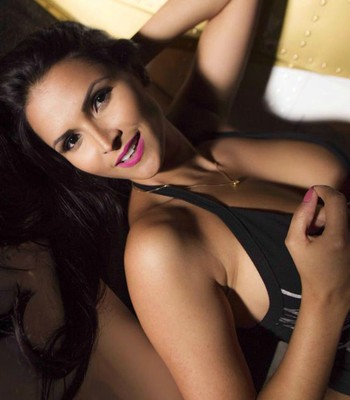 Syllvia Andrade, modelo capixaba e ring girl do Jungle Fight (Foto: Vitor Holanda)