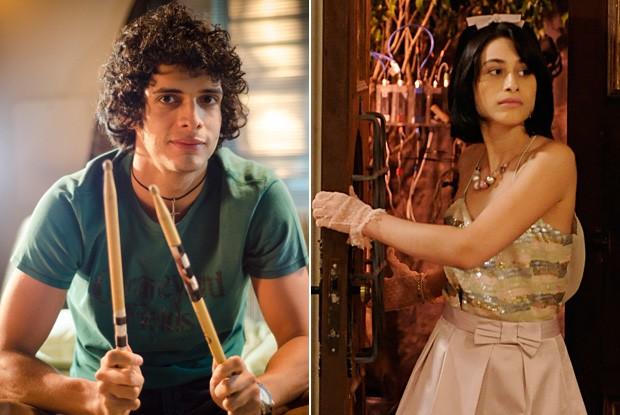 Namoro de Felipe e Bárbara vai bem... até demais (Foto: Divulgação / Rede Globo)