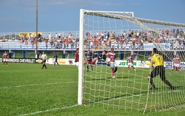 Alan Guarani de Palhoça x Atlético de Ibirama (Foto: Cristina Estefano/SERC Guarani)