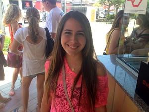Rafaela Pimentel, de 15 anos, que se inscreveu como treineira na Unicamp (Foto: Marcello Carvalho/ G1 Campinas)