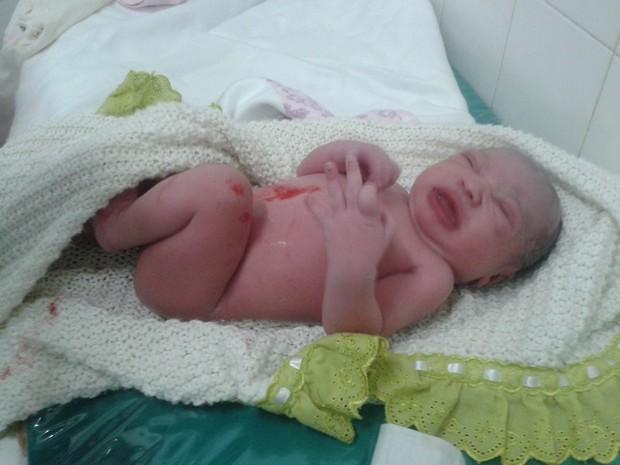 Arcos, parto, hospital bebe (Foto: Shirley Slva/Divulgação)