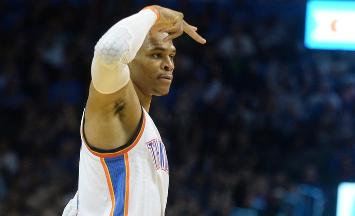 Russell Westbrook Oklahoma City Thunder (Foto: Reuters/Mark D. Smith-USA TODAY Sports)