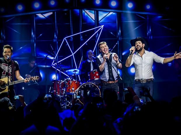 A dupla Fernando e Sorocaba com a Chris Weaver Band (Foto: Anderson Smoke/Divulgação)