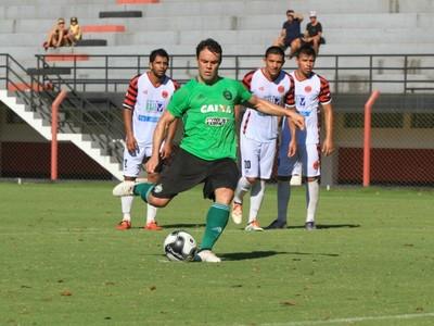 kleber coritiba jogo-treino foz mingá guazu (Foto: Diego Marinelli/Coritiba)
