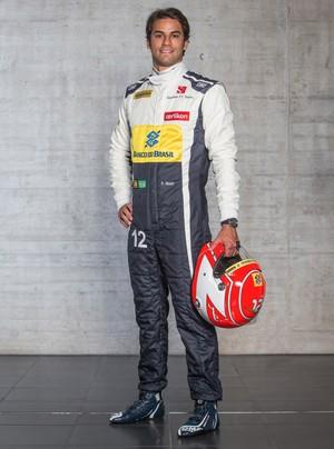 Felipe Nasr - Sauber - 30/1/2015 (Foto: Divulgação)