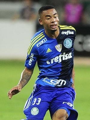 Gabriel Jesus Luan Palmeiras Gremio (Foto: Marcos Ribolli)