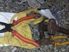 Jovens são presos por furto de fios de cobre em Votuporanga