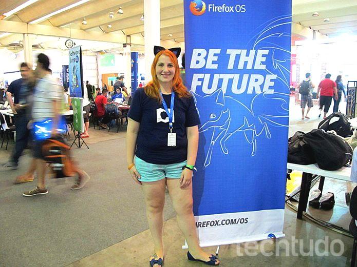 Melissa Devens fala de preconceitos na tecnologia (Foto: Foto: Laura Martins/Techtudo)