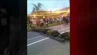 Manifestantes fecham BR-393 que dá acesso a Volta Redonda no sul Rio