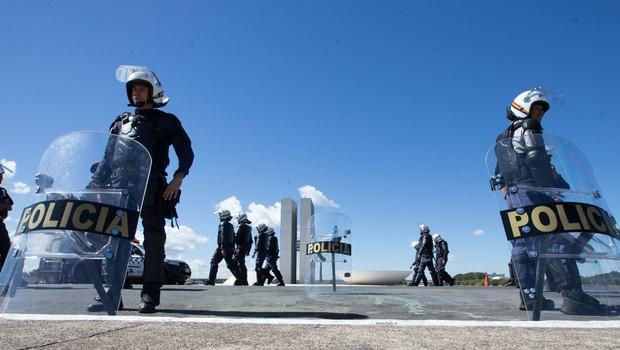 Em dia de protestos contra reformas do governo Temer, a Rodoviária de Brasília e a Esplanada dos Ministérios ficam vazios (Foto: Lula Marques/AGPT/FotosPúblicas)