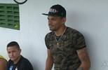 Soares passa férias em João Pessoa em companhia de ex-craque da Seleção Portuguesa