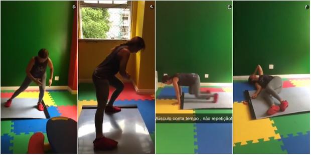 Ivete Sangalo (Foto: Reprodução/Snapchat)