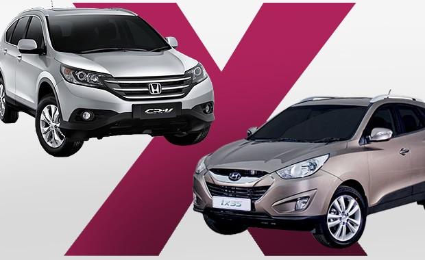 CR-V ou iX35: qual SUV comprar?