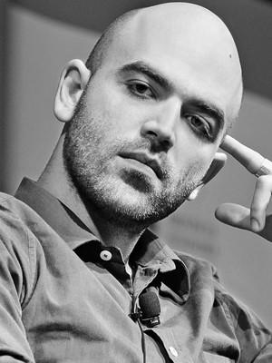 O escritor Roberto Saviano (Foto: Divulgação/Cia das Letras)