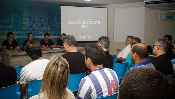 Paysandu lançou as novidades do Sócio Bicolor para 2017 (Foto: Fernando Torres/Paysandu)