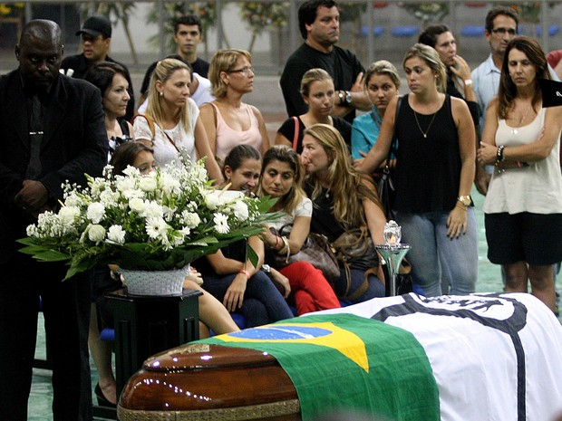 velório chorão santos (Foto: Lucas Baptista/Futura Press/Estadão Conteúdo)