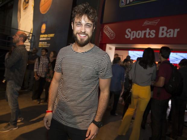 Ronny Kriwat em festa no Boulervard Olímpico, na Zona Portuária do Rio (Foto: Felipe Panfili/ Divulgação)