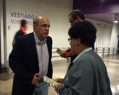 Eduardo Bandeira de Mello, presidente do Flamengo (Foto: Raphael Zarko / GloboEsporte.com)