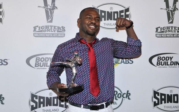 Jon Jones, eleito melhor lutador do ano pelo segundo ano consecutivo (Foto: Getty Images)