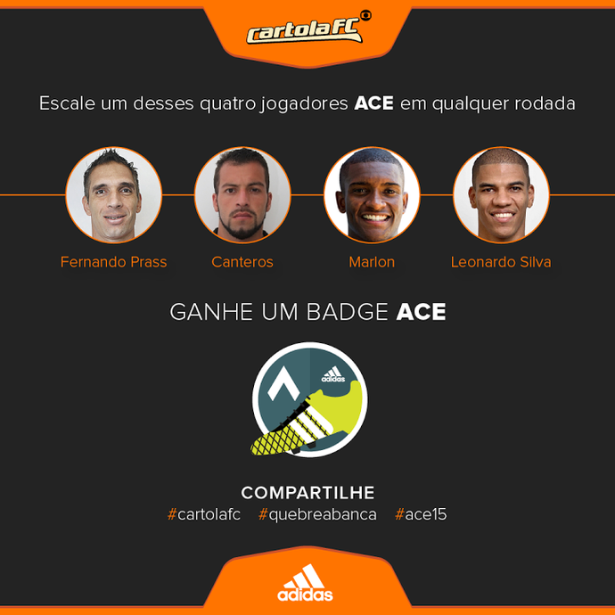 Adidas Badge Ace (Foto: Futdados)