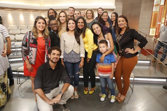 Parte da plateia que participou do programa  (Foto: Ellen Soares/Gshow)